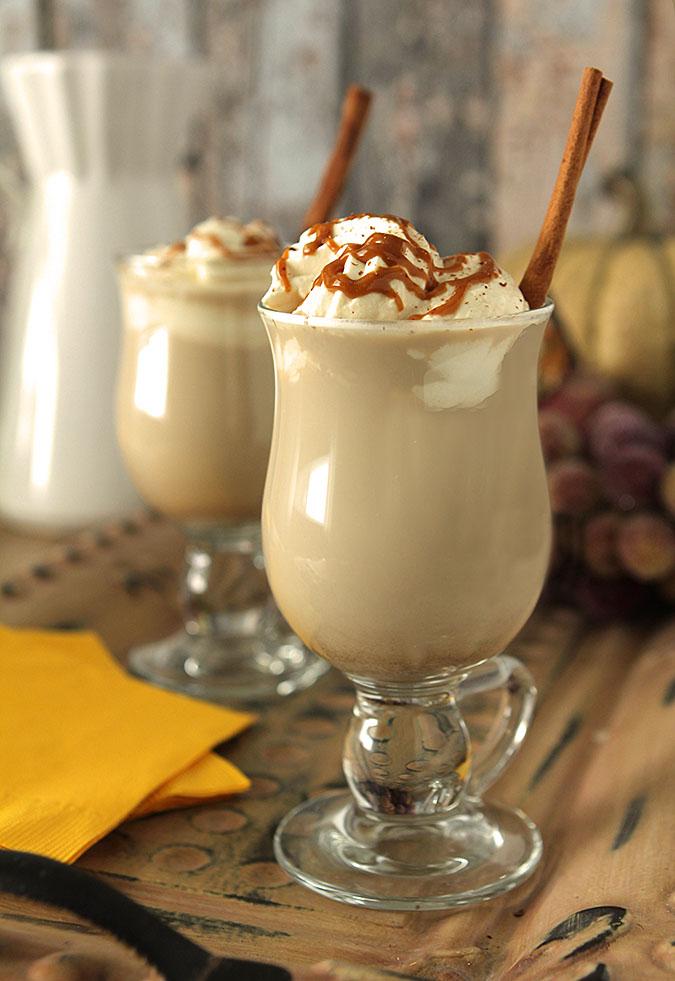 Hot Chocolate Eggnog Recipe