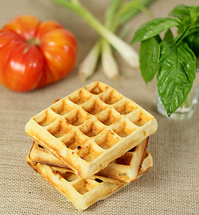 Cheese and Herb Waffle Toast for a Bacon, Lettuce and ...