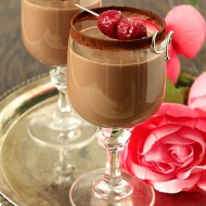 Chocolate Dessert Cocktail with Bailey's Irish Cream