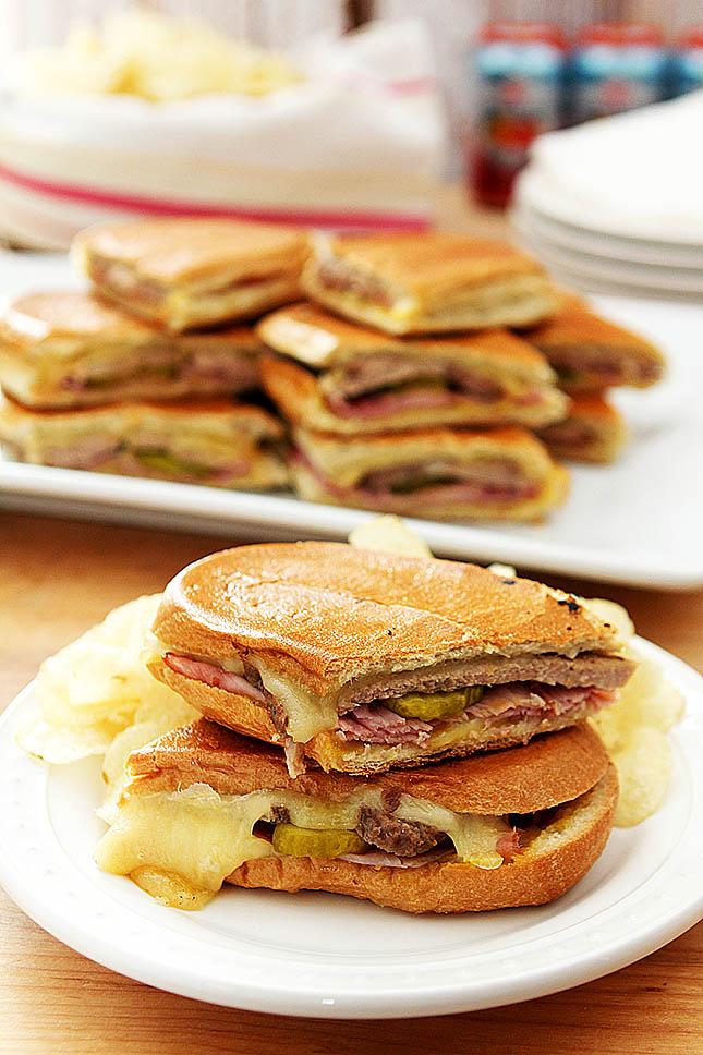 Cubano Sandwich from @creativculinary