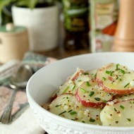 French Potato Salad with Fines Herbes
