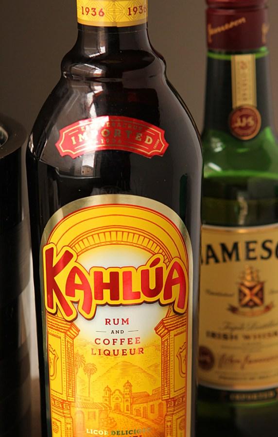 Kahlua Eggnog and Jameson Irish Whiskey Cocktail