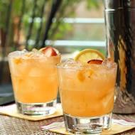Kentucky Peach Bourbon and Vodka Cocktail