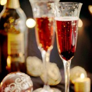 Kir Royale Cocktail for the New Year