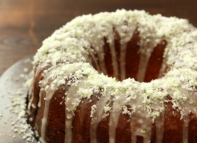 Margarita Pound Cake from @creativculinary