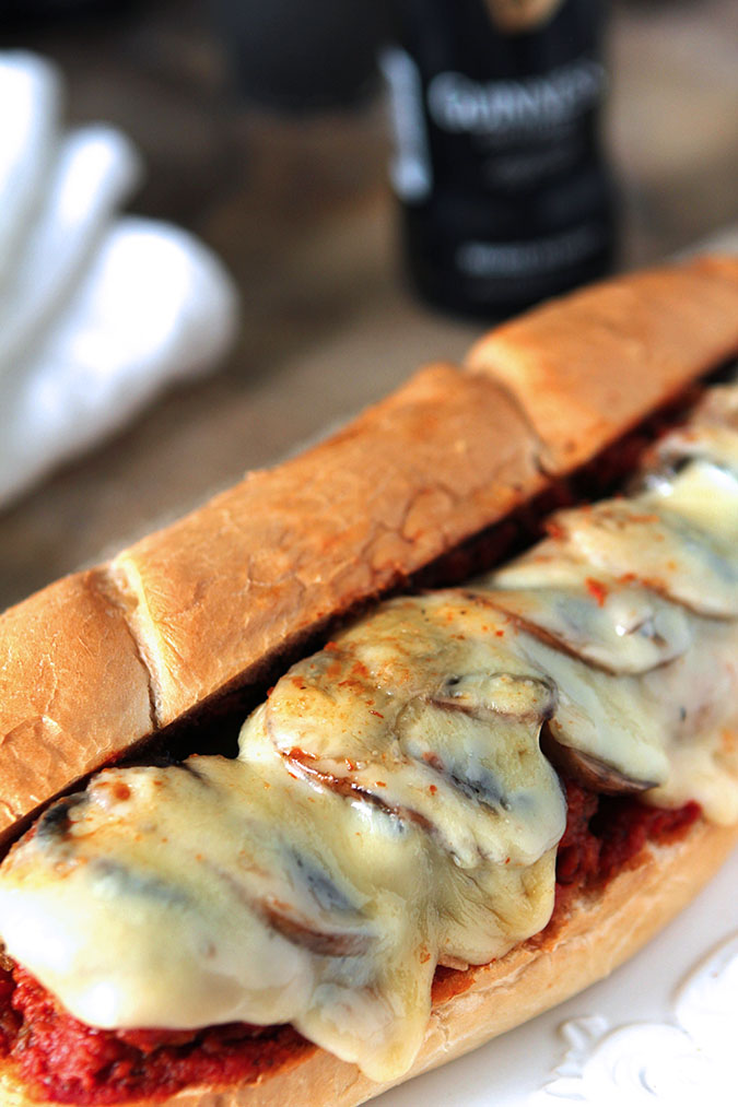 Meatball Sub Sandwiches for a Crowd