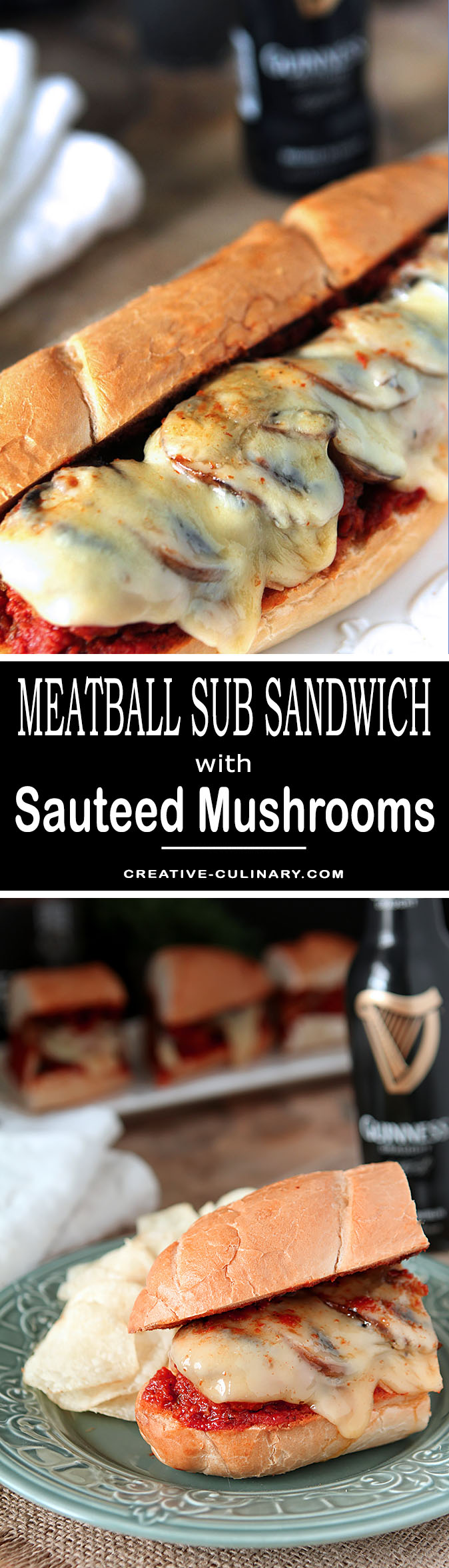 Whether it's for the big game, company or a family event, these Meatball Sub Sandwiches for a Crowd will be welcome by all!