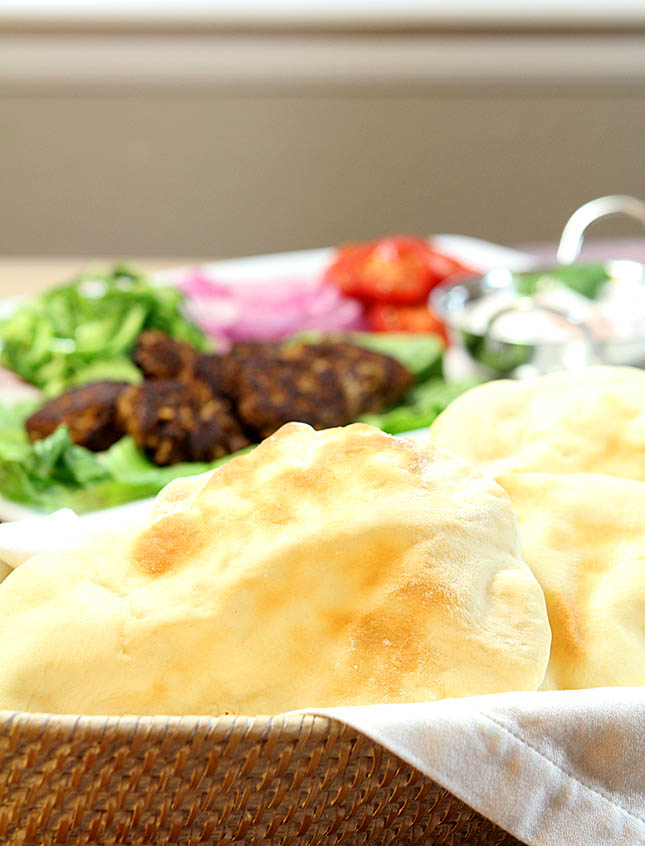 Homemade Naan - An Indian Flatbread from @creativculinary
