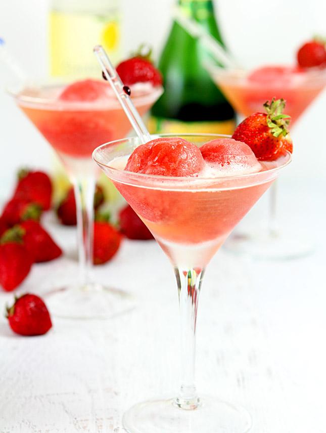 frozen sorbet cocktail