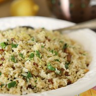 Sun-Dried Tomato and Spinach Rice Pilaf (Pressure Cooker)