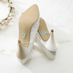 Stickers Chaussures Mariage I Do Accessoires Amusants