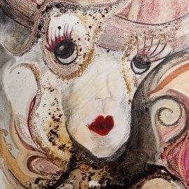Experimentelle Malerei | Komisch | Jessica Brandenburger | Creative-Material