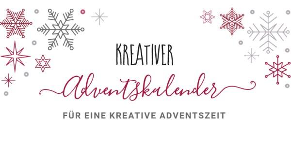 Kreativer Adventskalender für eine kreative Adventszeit | Creative-Material