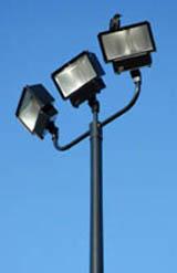فناء مقاطعة المثالي commercial outdoor lighting