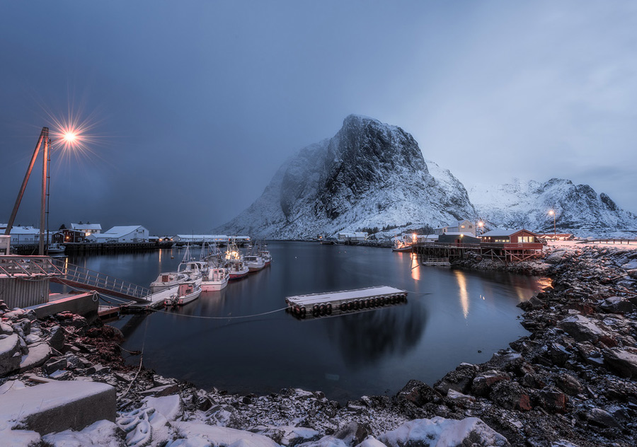 Long exposure photo taken in Norway