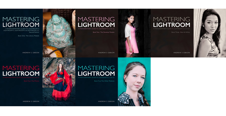 Mastering Lightroom five ebook bundle