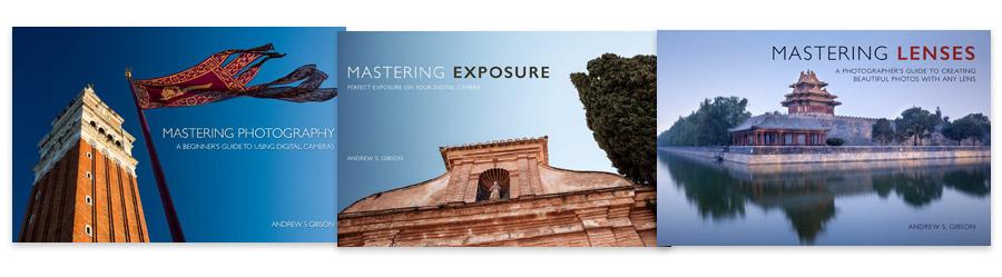 Mastering Photography, Mastering Exposure & Mastering Lenses ebook bundle