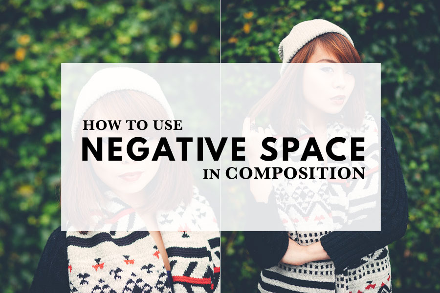 How to use negative space in composition the creative for Creative use of space