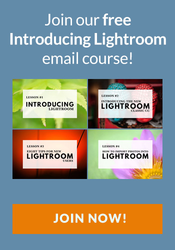Free Introducing Lightroom Email Course