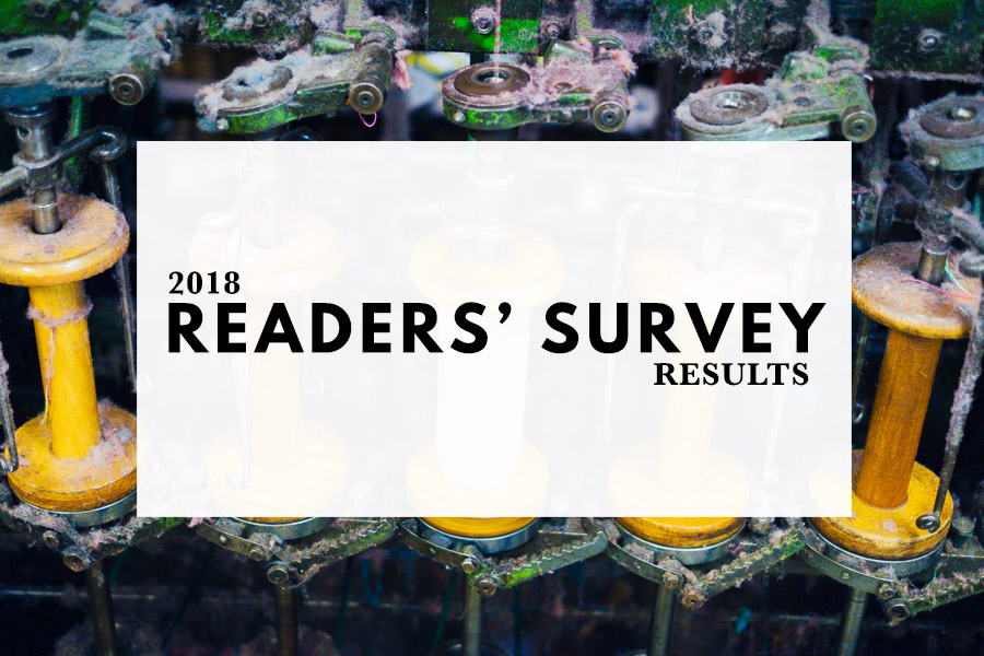 2018 Readers' Survey Results