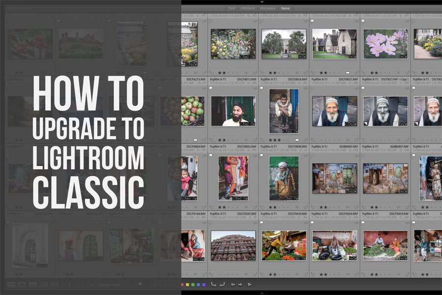 How to Ugrade to Lightroom Classic