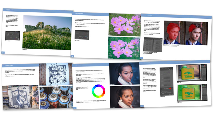 Lightroom Secrets Course Notes ebook inside pages