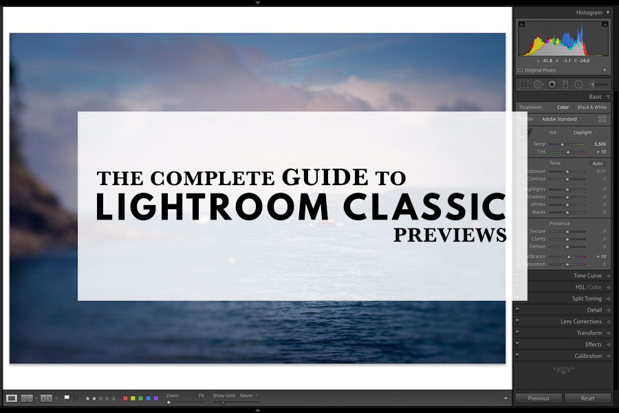 The Complete Guide To Building Lightroom Classic Previews