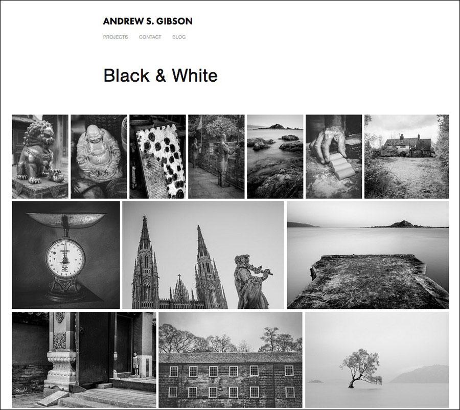 Adobe Portfolio website