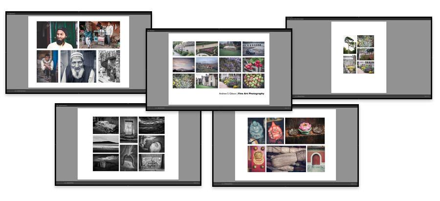 Lightroom Classic Print module layouts