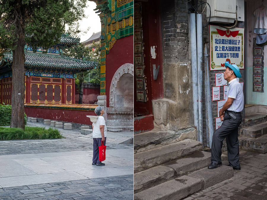 Travel photos made with normal lenses