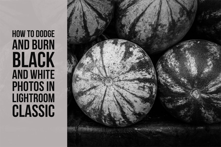How To Dodge and Burn Black & White Photos in Lightroom Classic