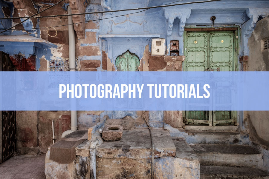 Photography tutorials