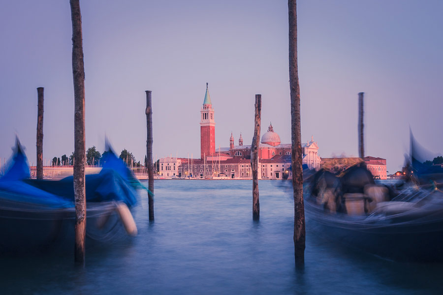 Travel photo of Venice at sunset