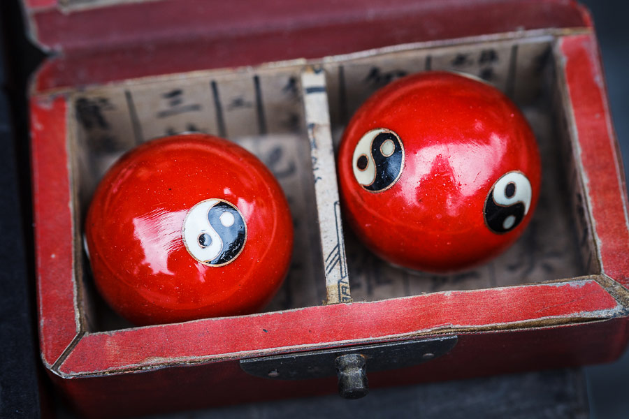 Photo of baoding balls