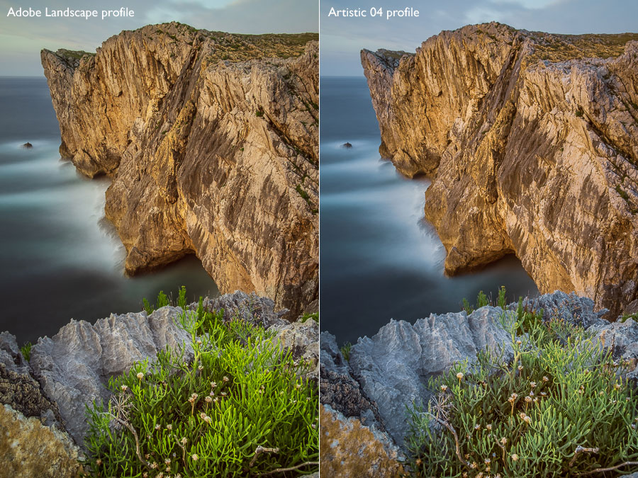 Lightroom Classic color profiles