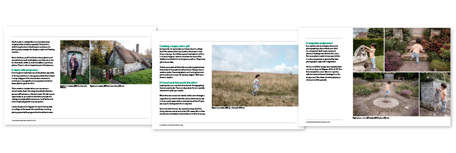 5 Steps To Better Photos Of Kids ebook pages