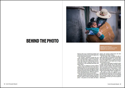 Creative Photographer Magazine article