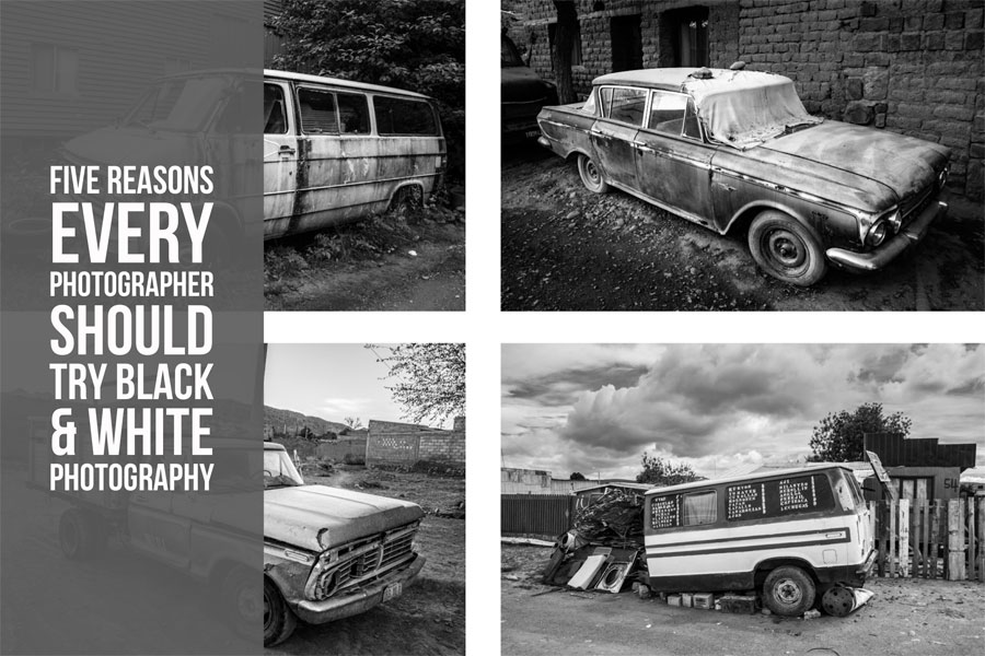 Five Reasons Every Photographer Should Try Black & White Photography