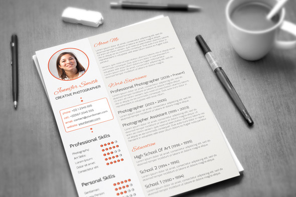 free modern cv resume templates