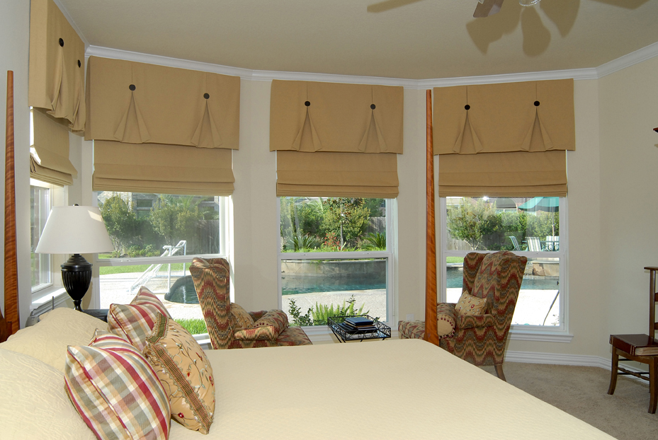 Inside Mount Functional Roman Shades