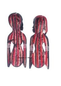 MaasaiCoupleWallPlaqueBack