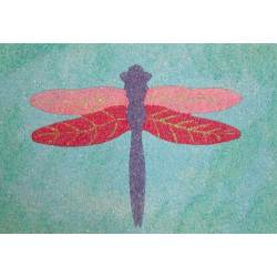 sand art dragonfly
