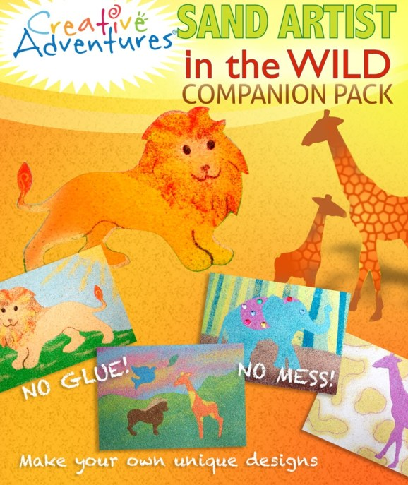 Sand Art companion pack Wild