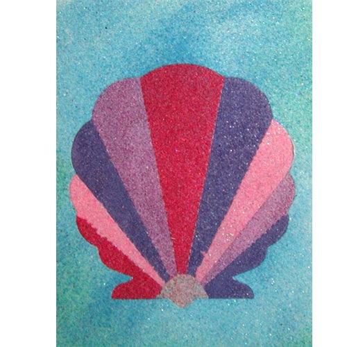 sand art shell