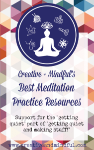 Best Meditation Resources | www.creativeandmindful.com