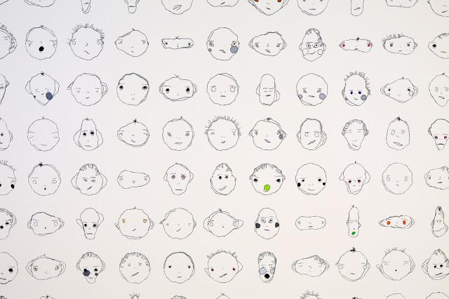 Weird Faces Study by Matthias Dörfelt (@mokafolio) using