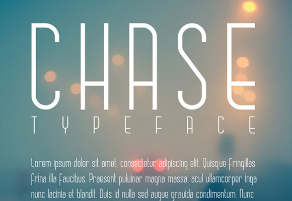 Best New Free Fonts 2014 Chase