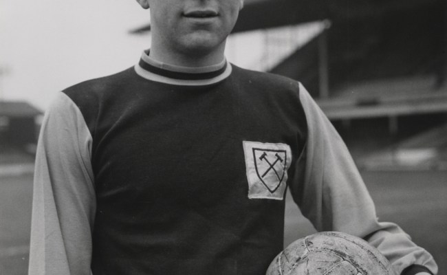 Never Before Seen Family Photographs Of Bobby Moore Go On