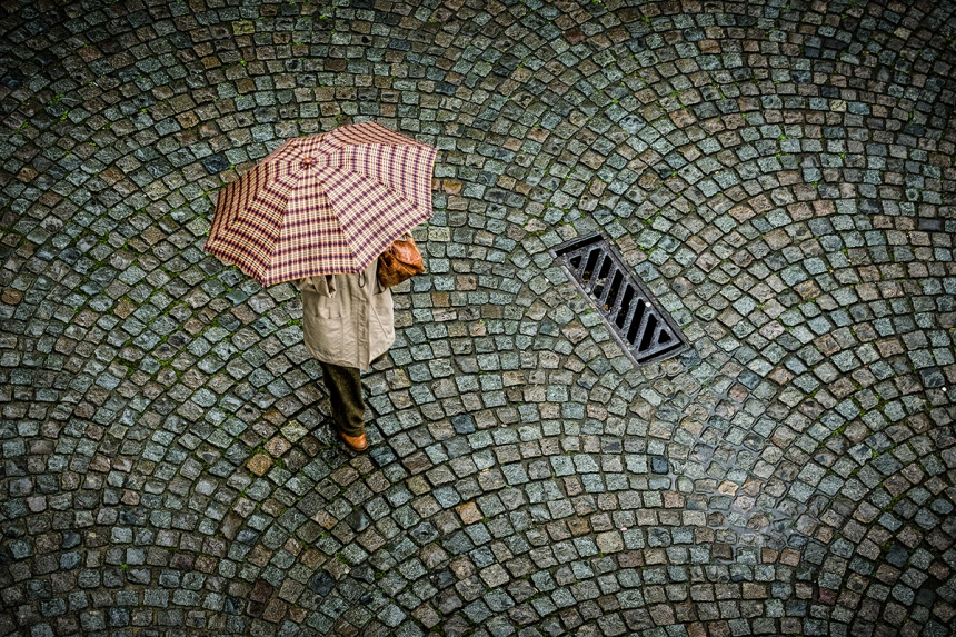 'A rainy day in Antwerp' Willem Kuijpers / Photocrowd.com