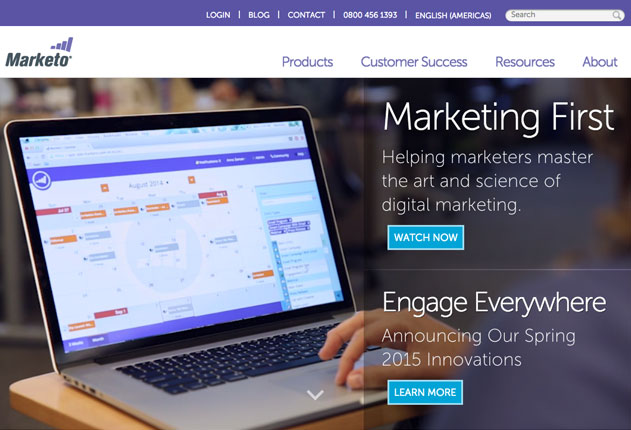 Marketo science of marketing automation